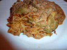 Fl/Schwein: Gyrospfanne überbacken - Rezept