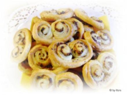 Snacks: Bunte Olivenöhrchen - Rezept