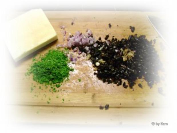 Snacks: Bunte Olivenöhrchen - Rezept - Bild Nr. 2