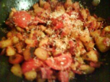 Mediterane Kartoffelwürfel - Rezept