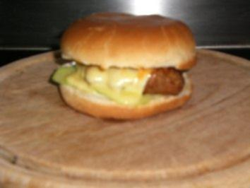 Familien-Cheese-Burger - Rezept