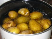 Kartoffelsalat der nicht schwer im Magen liegt - Rezept