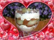Dessert :Keks mit Schwips und Melone - Rezept