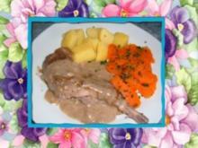 Fleisch : Kaninchen - Rezept