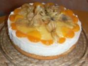 exotische Käse-Sahne Torte - Rezept