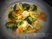 Frischkäse-Ravioli mit Broccoli EURO 5,55 für 4 Pers. - Rezept