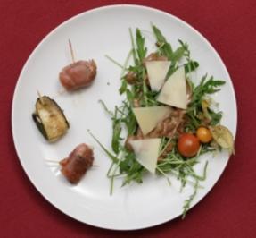 Ländlicher Salat mit reicher Vinaigrette, Tapas, frisches Brot (Daniel Aichinger) - Rezept - Bild Nr. 9