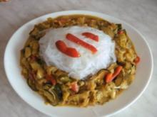 HAUPTMENÜ - Asia Gemüse mit Reisnudeln von Kochmamma - Rezept