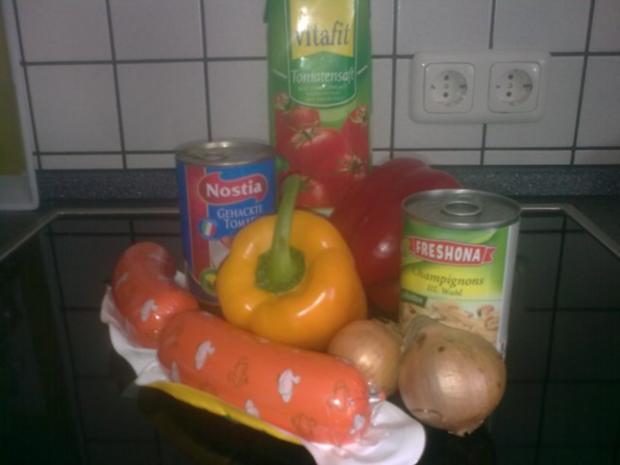 tomatiges Wurstgulasch - Rezept - Bild Nr. 2