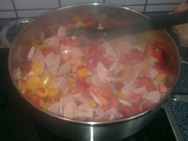 tomatiges Wurstgulasch - Rezept - Bild Nr. 4