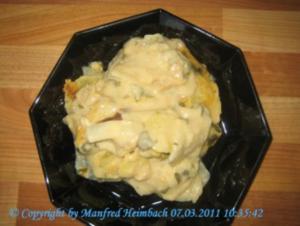 Gemüse – Gratiniertes Kohlrabi-Kartoffelgemüse - Rezept