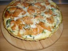Lachs Broccoli Quiche - Rezept