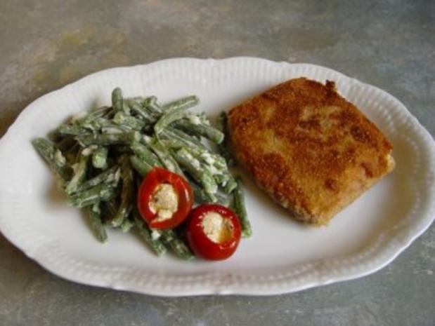 Bohnensalat mit Mayonnaise - Rezept