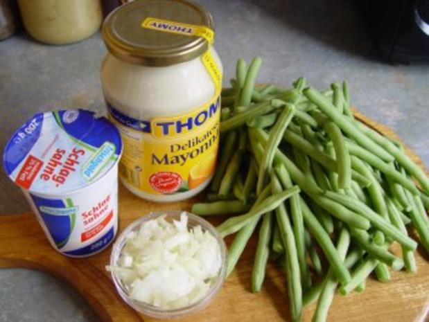 Bohnensalat mit Mayonnaise - Rezept - Bild Nr. 2