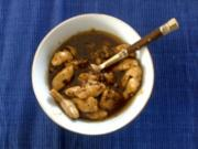Huhn mit Chiligelee - Rezept