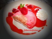 Erdbeersorbet - Schokoeis - Rezept