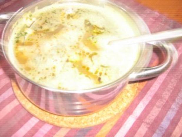 Asiatisches Nudelsüppchen mit Huhn - Rezept - Bild Nr. 2