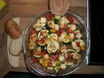 Backofen-Gemüse - Rezept