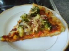 Pfannenpizza - Rezept