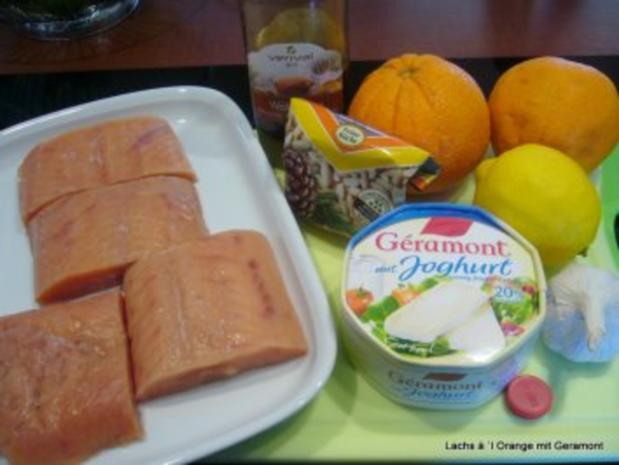 Lachs à `l Orange mit Geramont - Rezept - Bild Nr. 2