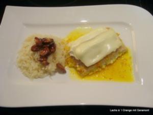 Lachs à `l Orange mit Geramont - Rezept