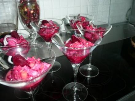 GLASFOOD 16 :ROTE- BETE-HERING - Rezept