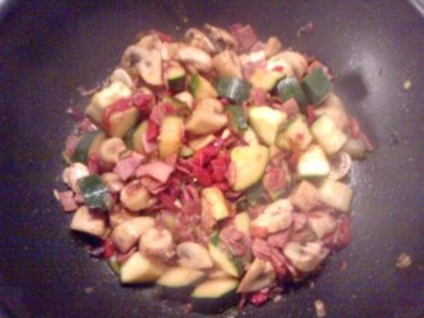 Tortilla sin Patatas caliente - Rezept - Bild Nr. 3