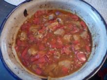 Gulasch : Paprika-Schweinegulasch - Rezept