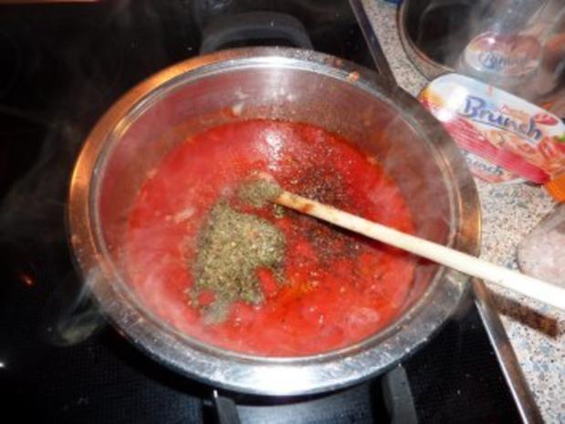 Fisch: Seelachs-Muschel-Tomatensoße - Rezept - Bild Nr. 5