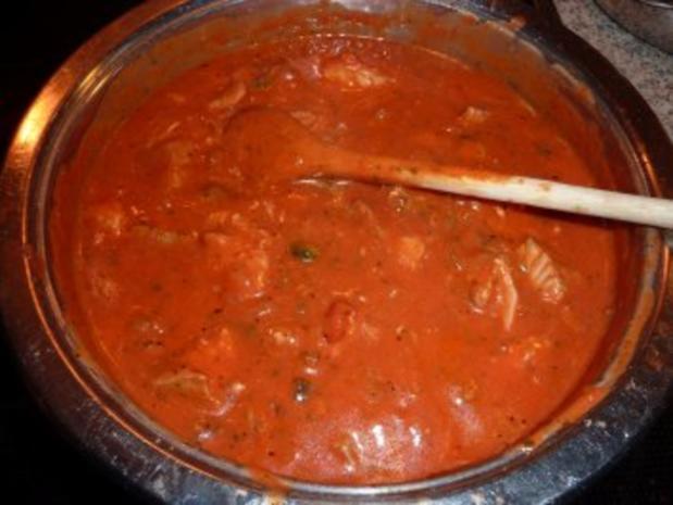 Fisch: Seelachs-Muschel-Tomatensoße - Rezept - Bild Nr. 9