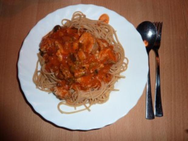 Fisch: Seelachs-Muschel-Tomatensoße - Rezept - Bild Nr. 10