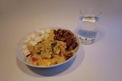 Herzhaft-süßer Couscous-Salat - Rezept