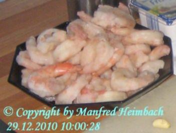 Garnelen - Tom Yum Goong - Scharf saure Thai Suppe mit Garnelen - Rezept