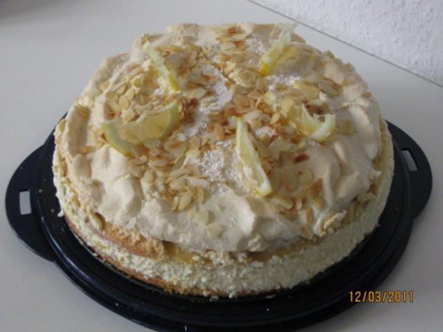 Lemon Curd Baiser Torte Rezept Mit Bild Kochbar De