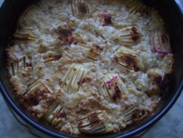 Apfelkuchen mit Guss nach Weight Watchers - Rezept - Bild Nr. 2