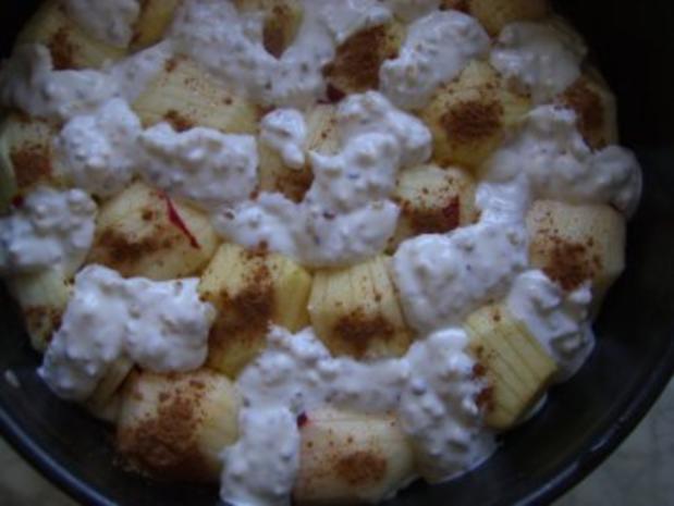 Apfelkuchen mit Guss nach Weight Watchers - Rezept - Bild Nr. 7