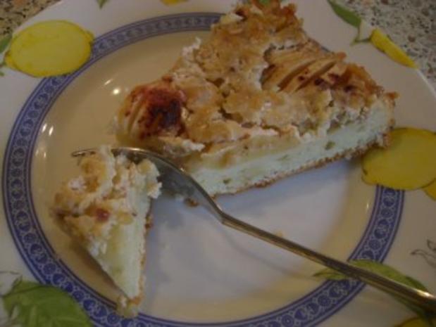 Apfelkuchen mit Guss nach Weight Watchers - Rezept