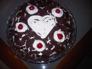 Schwarzwälder Torte - Rezept