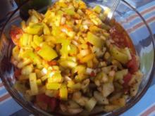 Scharfer Salat zu gegrilltem - Rezept