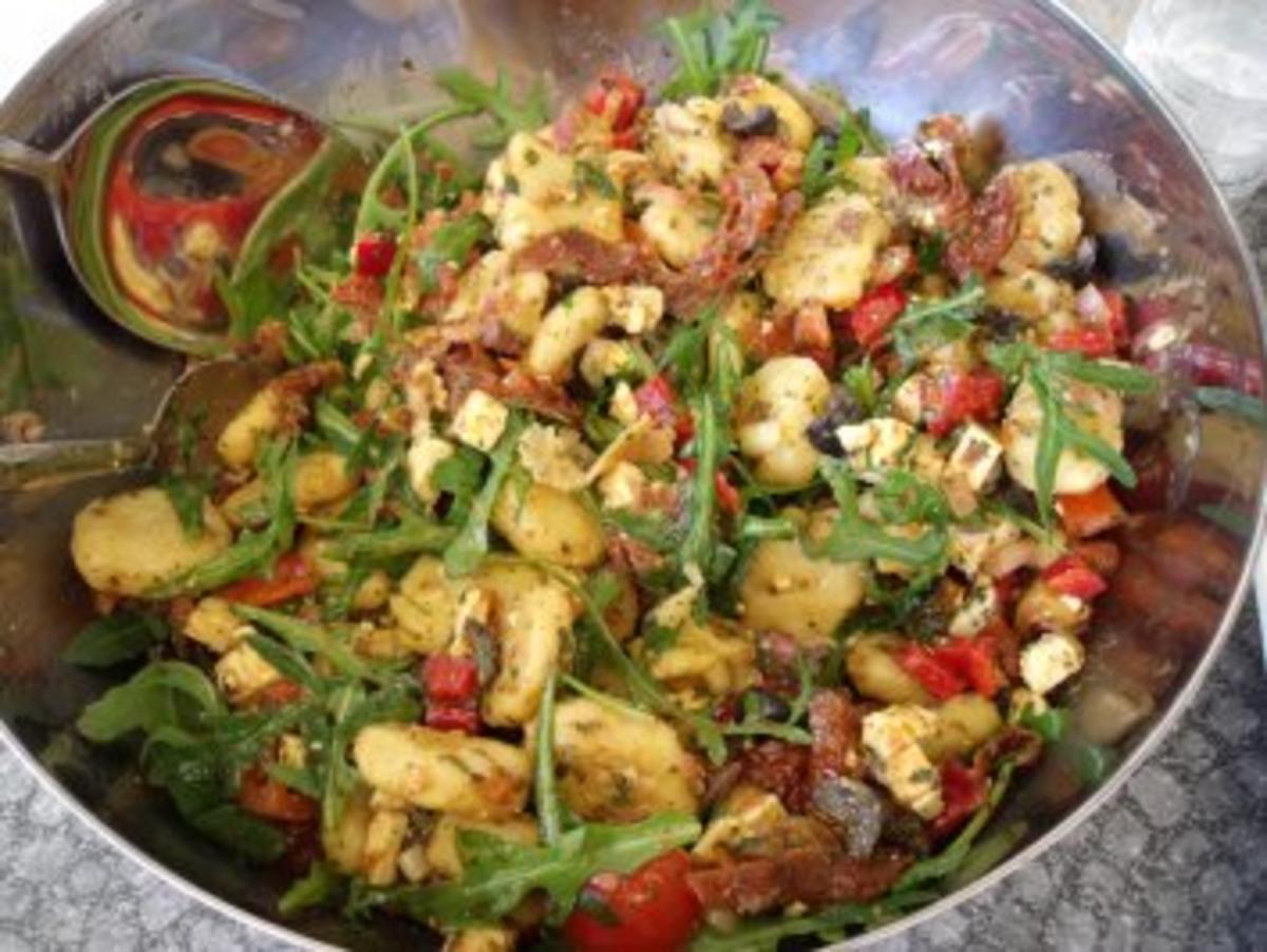 Gnocchi-Salat - Rezept Eingereicht von Sri_Devi