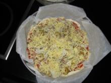 schnelle Thunfischpizza - Rezept
