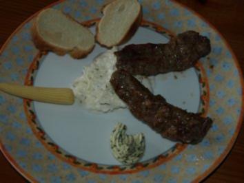 Grillteller mit Lamm - Rezept