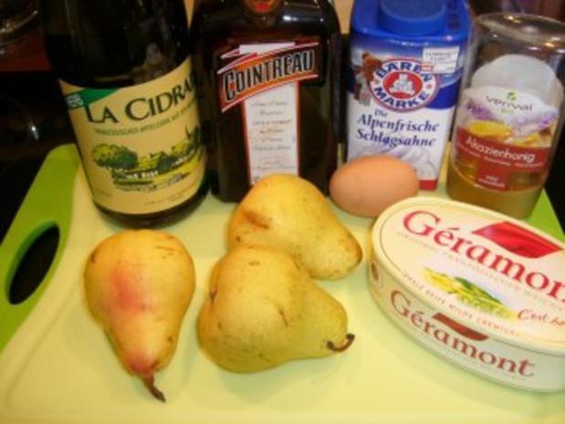 Birne auf Käse und Blätterteig - Rezept - Bild Nr. 2