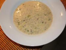 Käse-Lauchzwiebel-Suppe - Rezept