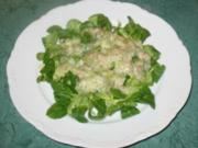 Salat/Beilage - Feldsalat mit Kartoffel-Dressing - Rezept