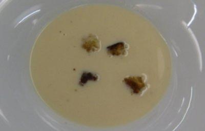 Fränkische Mostsuppe mit Zimtcroutons - Rezept
