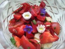 Paprika-Kräuter-Salat - Rezept