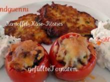 Kartoffel-Käse-Rösties - Rezept