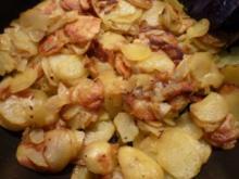 Bratkartoffeln schnell und einfach - Rezept