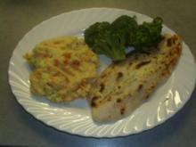 Fischgerichte: Doradenfilet mit einer cremigen Kruste - Rezept